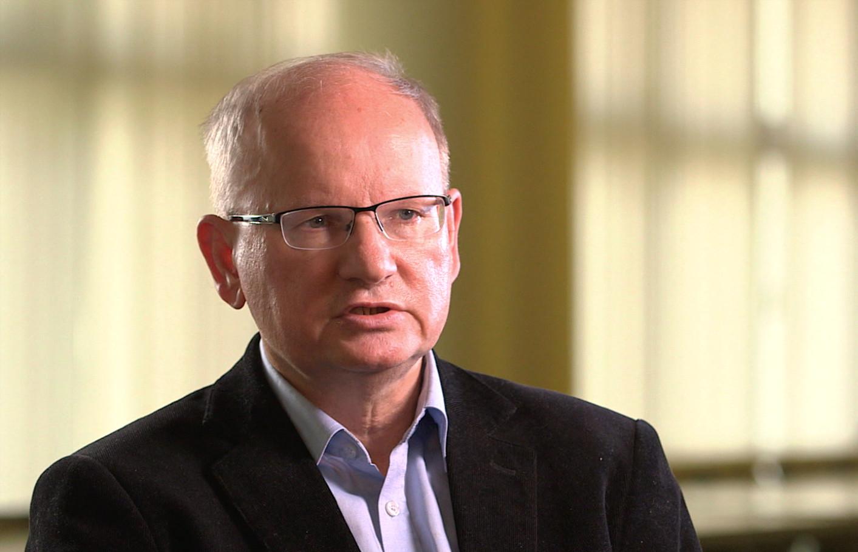 Andrzej Grajewski, interviewee on John Paul 2: Liberating a Continent, the fall of Communism.