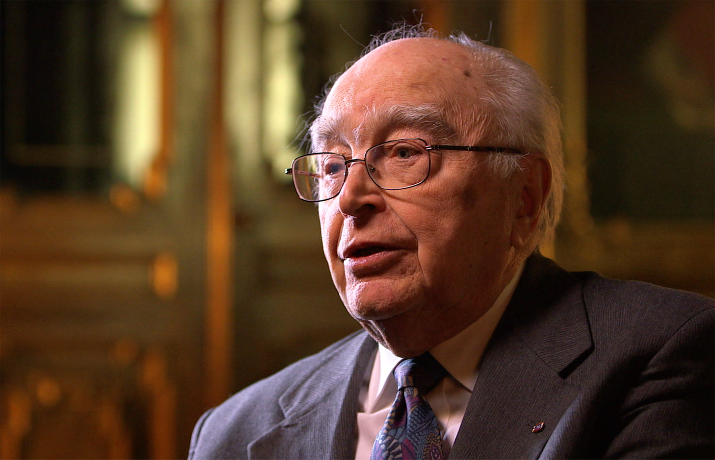 Dr. Stanislaw Grygiel, interviewee on John Paul 2: Liberating a Continent, the fall of Communism.