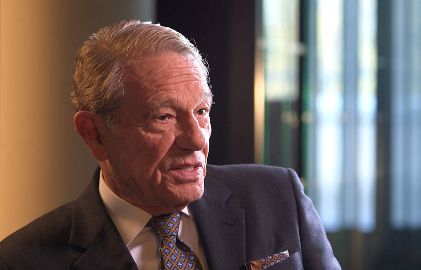 Joaquin Navarro-Valls, interviewee on John Paul 2: Liberating a Continent, the fall of Communism.