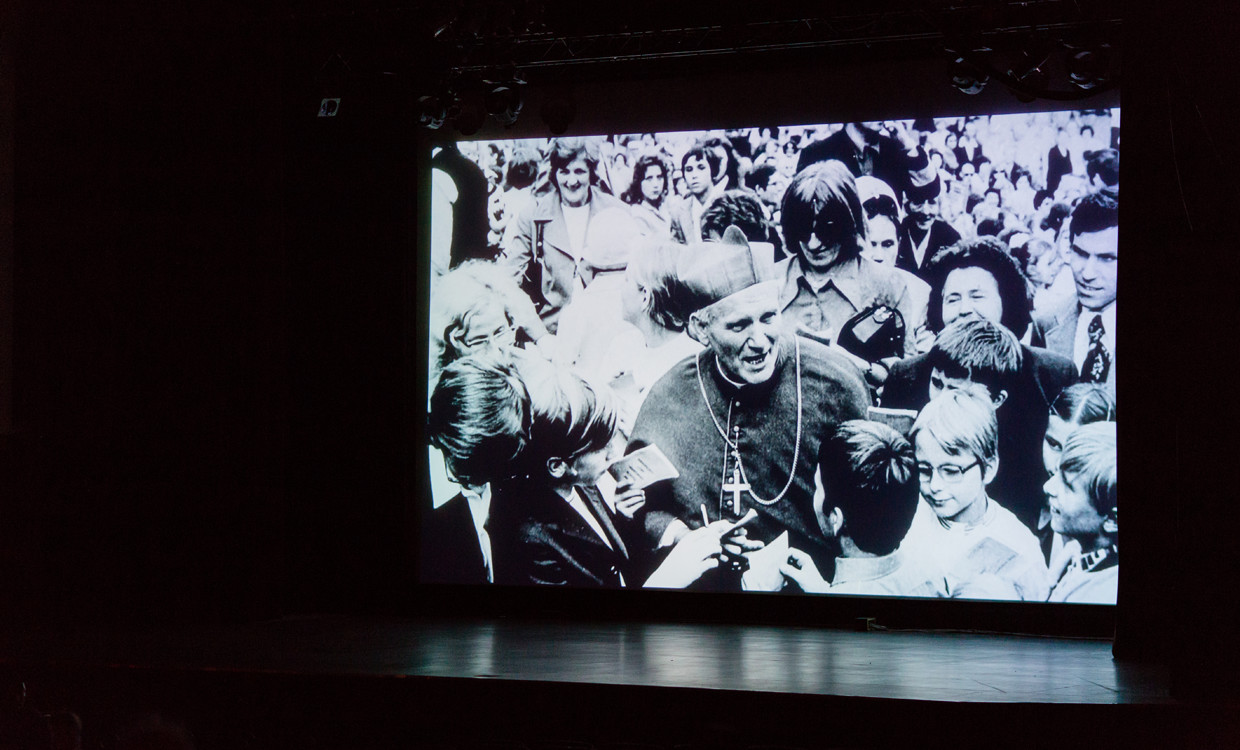 The premiere of Liberating a Continent: John Paul II and the Fall of Communism
