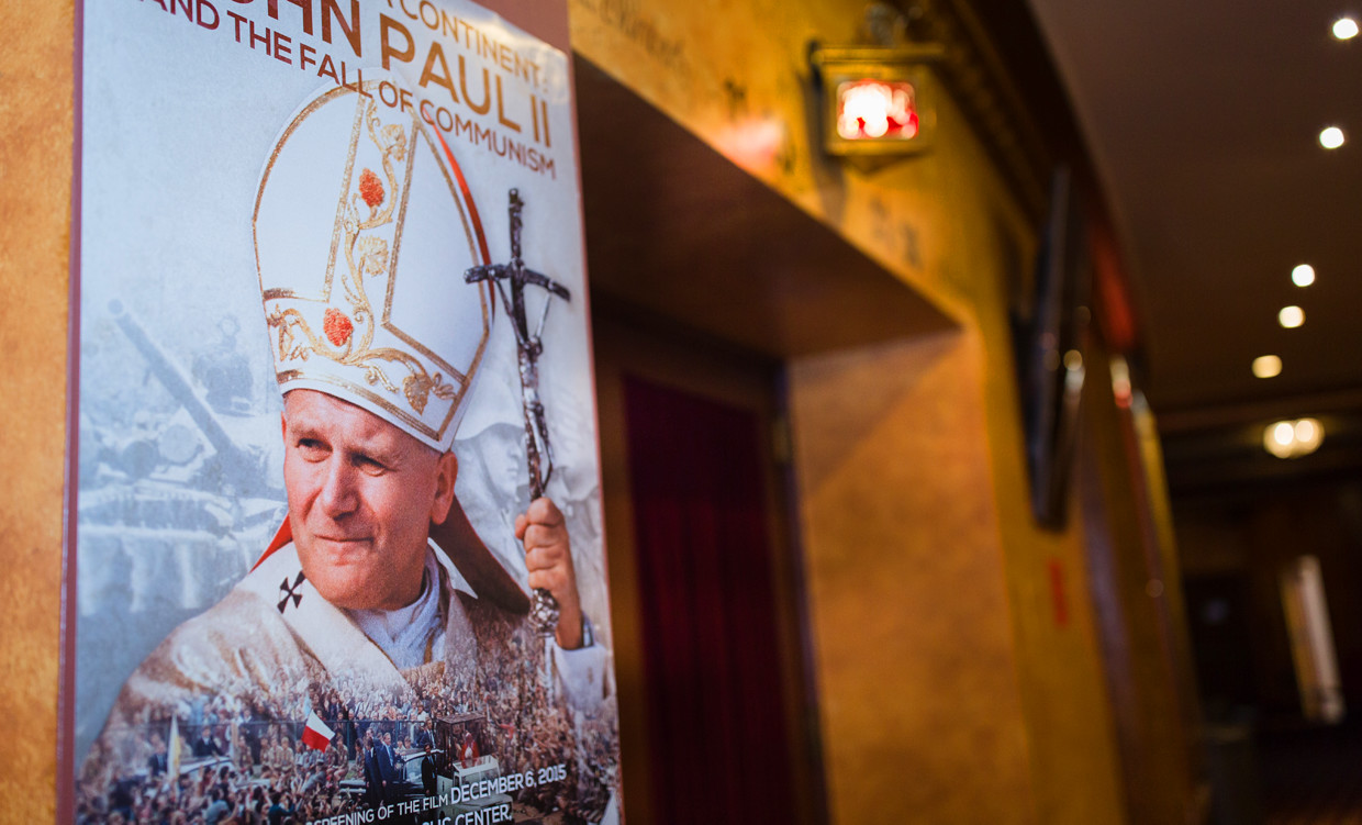 Premiere of Liberating a Continent: John Paul II and the Fall of Communism