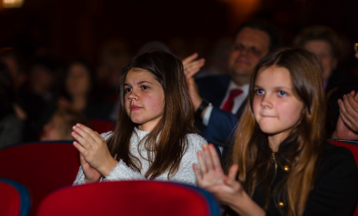 Audience at the premiere of Liberating a Continent: John Paul II and the Fall of Communism.